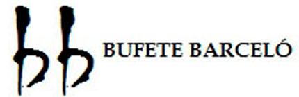 Bufete Barcelo Logo Grande